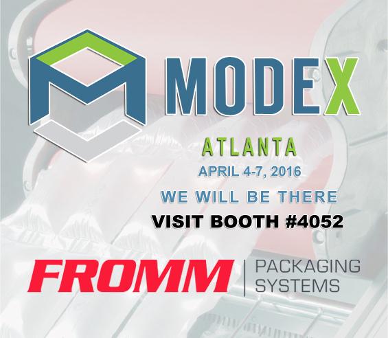 FROMM富朗包裝參加2016美國亞特蘭大MODEX