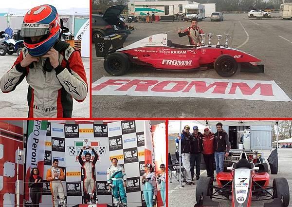 Karim Sartori 去年義大利山道賽的冠軍,今年在義大利Imola舉行的Master Tricolore Prototipi比賽中奪冠,恭喜!.jpg