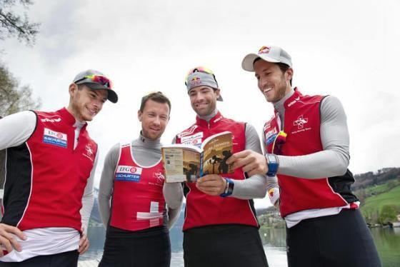 2016里約奧運的入場卷已經在手,瑞士FROMM富朗包裝作為Swiss four的長期合作夥伴,希望他們能獲得好成績️,加油!!!.jpg