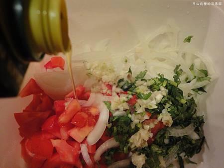 酪梨沙拉+橄欖油