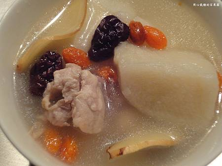 刺蜜薯~山藥排骨湯