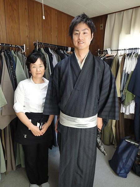 日本和服男