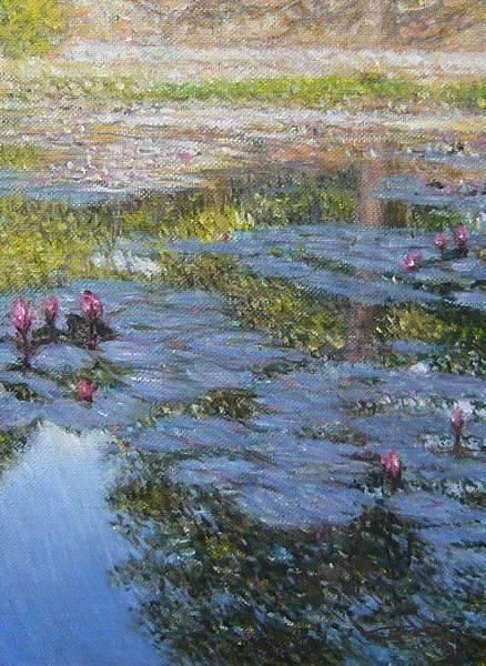 紫雷-蓮池畔的樹