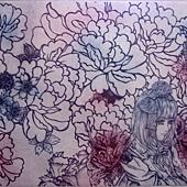 在花蔭下散步-黃凡容