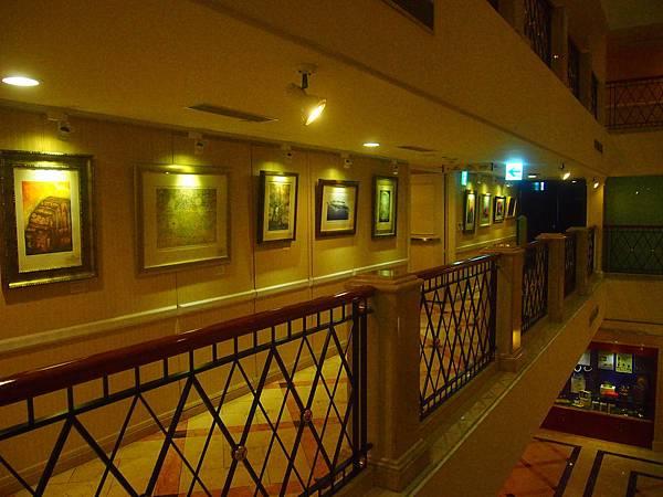 華國飯店二樓展場一景