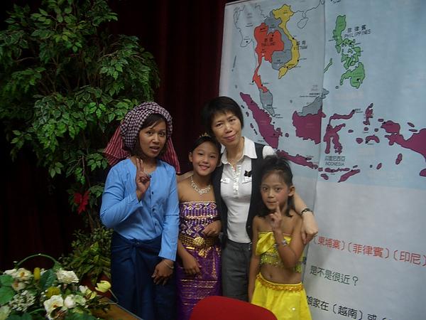 來自柬埔寨的新住民家庭