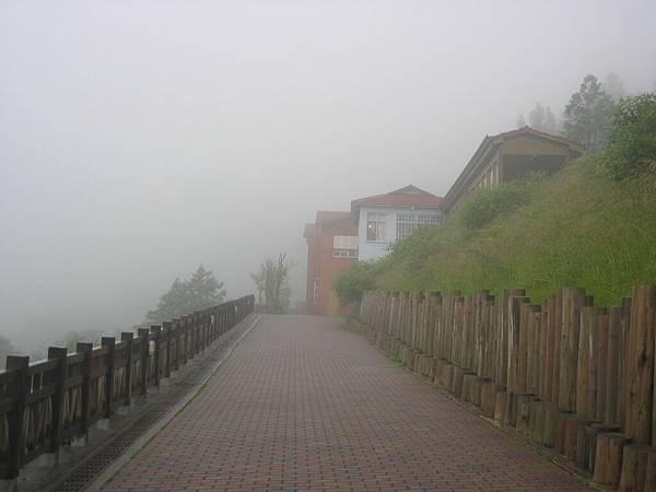 霧鎖太平山