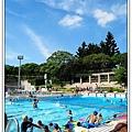陽光、泳池