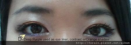 TGIF Orange Bronze - eyeline
