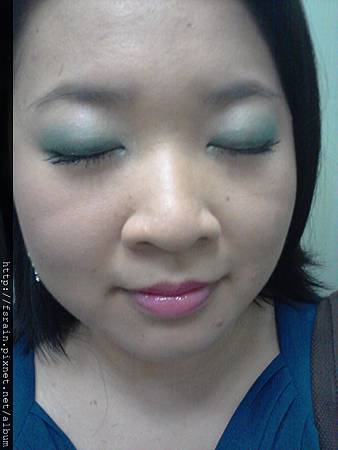 FANCL Whispers of Spring-Beauty Eye Colour-Green Nuance2