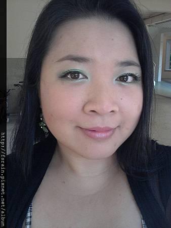 Rosewood Paris Glamour Eyeshadow EF102-Green Quad19