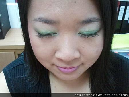 Rosewood Paris Glamour Eyeshadow EF102-Green Quad8