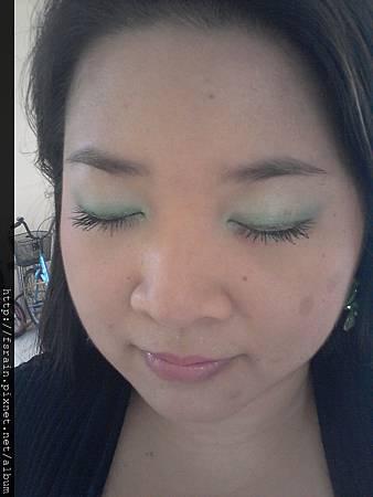 Rosewood Paris Glamour Eyeshadow EF102-Green Quad11