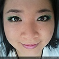 Teal Green Fluttery Eyes10