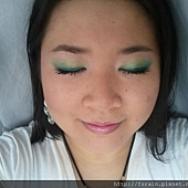 Teal Green Fluttery Eyes14