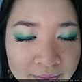 Teal Green Fluttery Eyes15