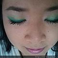 Teal Green Fluttery Eyes17