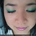 Teal Green Fluttery Eyes18