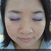 Office Week LOTD-15Mar12-Purple-ish Eyes & Peachy Lips11