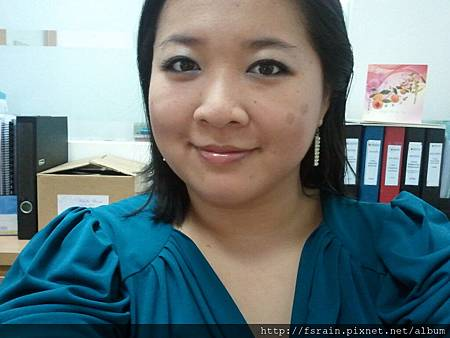 Office Week LOTD-21Mar12-AmuSe Big Fan Makeup Kit-Blue3