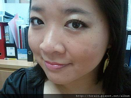 Office Week LOTD-22Mar12-AmuSe Big Fan Makeup Kit-Earth Tones5