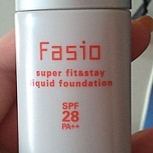 Fasio Super Fit & Stay Liquid Foundation SPF28 PA++1-Front