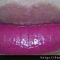SilkyGirl Moisture Rich Lipcolour-31 Bliss-half lip swatch closeup2