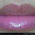 SilkyGirl Moisture Max Lipcolour-11 Melon Sorbet-half lip swatch closeup