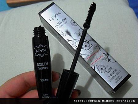 NYX Doll Eye Mascara-DE02 Volume Extreme Black-3