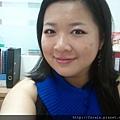 Office Week LOTD-10Apr12-Hot Pink Shadow Liner2