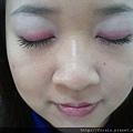 Office Week LOTD-10Apr12-Hot Pink Shadow Liner4