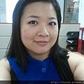 Office Week LOTD-10Apr12-Hot Pink Shadow Liner5