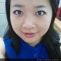 Office Week LOTD-10Apr12-Hot Pink Shadow Liner6