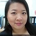 Office Week LOTD-11Apr12-Peeking Orange Purple Lash1
