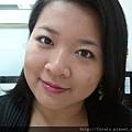 Office Week LOTD-11Apr12-Peeking Orange Purple Lash2