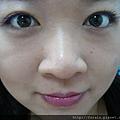 Office Week LOTD-11Apr12-Peeking Orange Purple Lash4