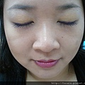 Office Week LOTD-11Apr12-Peeking Orange Purple Lash5