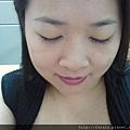 Office Week LOTD-11Apr12-Peeking Orange Purple Lash7