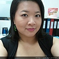 Office Week LOTD-11Apr12-Peeking Orange Purple Lash8