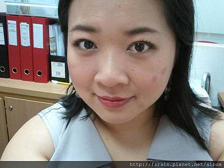 Office Week LOTD-12Apr12-Olive Green with Ruby Kiss2
