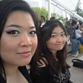 Funky 3coloured Eyes 4RockNRoll-23-with Sister