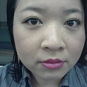 Office Week LOTD-25Apr12-Lime Green Liner wBold Lips-1