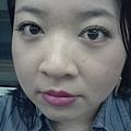 Office Week LOTD-25Apr12-Lime Green Liner wBold Lips-2