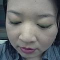Office Week LOTD-25Apr12-Lime Green Liner wBold Lips-3