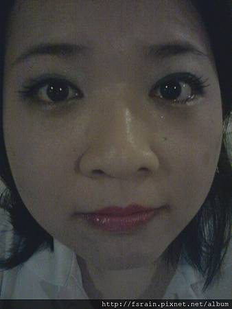 Office Week LOTD-27Apr12-Simple Lined Eyes wBold Lips-3