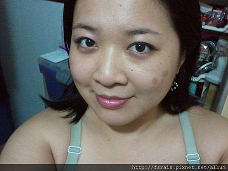 Office Week Series-04May12-Dainty Pink Lids with Berry Pink Gloss-1