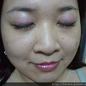 Office Week Series-04May12-Dainty Pink Lids with Berry Pink Gloss-3