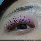 Office Week Series-14 May 2012-Blue tone Pink-9-mascara effect one eye-3