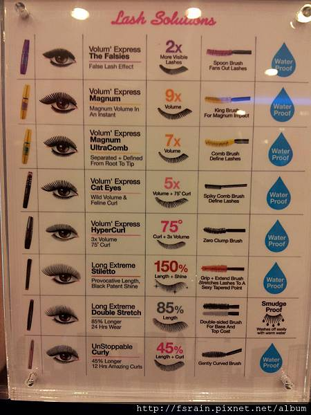 Maybelline Lash Solutions