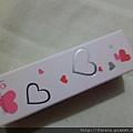 iOsasatinnie Sugary Heart Lipstick-03Girly Pink-01